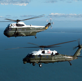 Raytheon Gets $85M Navy H-60 Spare Parts Delivery Order - top government contractors - best government contracting event