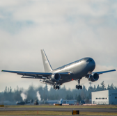 Boeing Conducts Initial Flight Test on Air Force KC-46A Tanker - top government contractors - best government contracting event