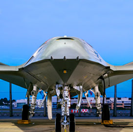 Report: Boeing's MQ-25 Tanker Drone Offering Undergoes Tests Ahead of Source Selection Decision - top government contractors - best government contracting event