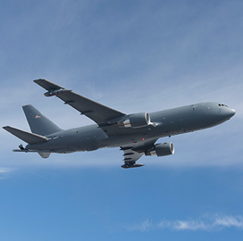Boeing Gets FAA Supplemental Type Certificate for KC-46 Tanker - top government contractors - best government contracting event