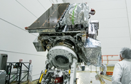 Lockheed to Begin Final Processing of NOAA's GOES-S Weather Satellite