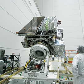 Lockheed to Begin Final Processing of NOAA's GOES-S Weather Satellite - top government contractors - best government contracting event