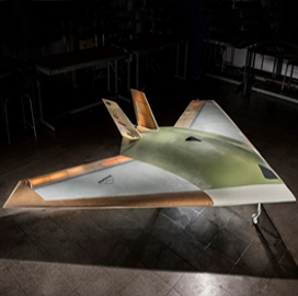 BAE, University of Manchester Test Small UAV With Blown-Air System - top government contractors - best government contracting event