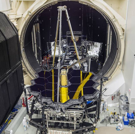 NASA to Ship Webb Telescope to Northrop Facility for Spacecraft Tech Integration - top government contractors - best government contracting event