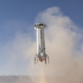 Blue Origin's New Shepard Launches 5 NASA-Backed Tech Payloads for Suborbital Flight Tests - top government contractors - best government contracting event