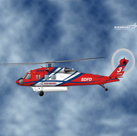 San Diego to Procure Sikorsky-Built Helicopter for Aerial Firefighting Mission - top government contractors - best government contracting event