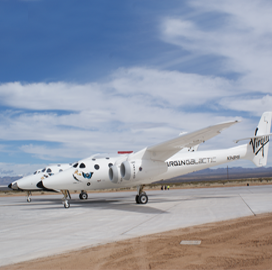 Virgin Galactic, Italian Space Agency Ink Letter of Intent for Suborbital Research Flight - top government contractors - best government contracting event