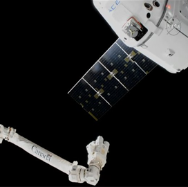 SpaceX's Reused Dragon Spacecraft Arrives at ISS for 13th Cargo Resupply Mission - top government contractors - best government contracting event
