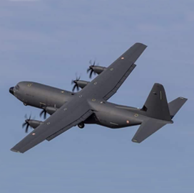 ExecutiveBiz - Lockheed Delivers First C-130J Airlifter to French Military