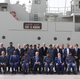 Leonardo Delivers Upgraded Naval Vessel to Bahrain Military - top government contractors - best government contracting event