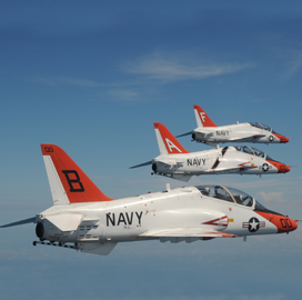 Boeing Gets Navy Order for T-45 Aircraft Retrofit Kits, Special Tools - top government contractors - best government contracting event
