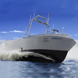 Textron, Navy to Install Surface Warfare Weapons on Unmanned Surface Vehicle - top government contractors - best government contracting event