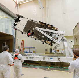 Lockheed Tests Arabsat Comms Satellite - top government contractors - best government contracting event