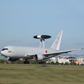Boeing Secures $61M Contract for Japanese AWACS Upgrade Installation, Checkout - top government contractors - best government contracting event