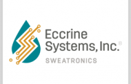 Eccrine Systems to Continue Sensor Tech Devt Under Air Force Contract