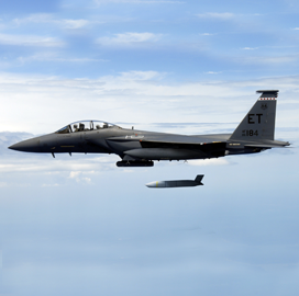 Air Force Integrates Lockheed-Built Extended Range Standoff Missile on F-15E Aircraft - top government contractors - best government contracting event