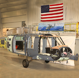 Sikorsky Begins Combat Rescue Helicopter Final Assembly Under $1.5B Air Force Contract - top government contractors - best government contracting event