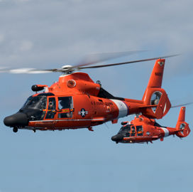 Rockwell Collins to Supply Updated Avionics for Coast Guard MH-65 Helicopters - top government contractors - best government contracting event