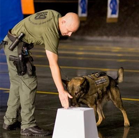 Johns Hopkins APL Licenses Govt-Funded Explosive Detection Canine Training Aid to Gallant - top government contractors - best government contracting event