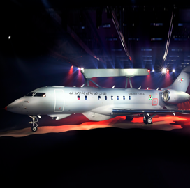 Saab Flies New GlobalEye Aircraft From Linkoping Airfield - top government contractors - best government contracting event