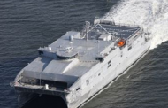 Austal USA Hosts Christening of Navy's 10th Expeditionary Fast Transport Ship
