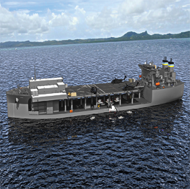 General Dynamics NASSCO Delivers 2nd Expeditionary Sea Base to Navy - top government contractors - best government contracting event