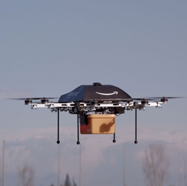 Amazon Obtains USPTO Patent for Delivery Drone - top government contractors - best government contracting event