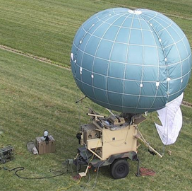 Drone Aviation Gets Additional DoD Tactical Aerostat Order - top government contractors - best government contracting event