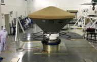 Lockheed Transports Robotic Mars Lander to California Launch Site