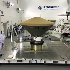 ExecutiveBiz - Lockheed Transports Robotic Mars Lander to California Launch Site