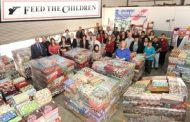Northrop Grumman Employees Donate 2,700 Shoe Boxes to Needy Children