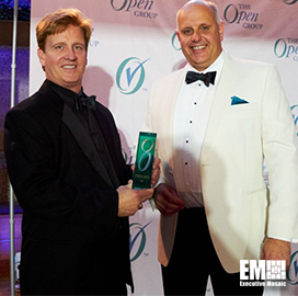 IBM's Andras Szakal Recognized at The Open Group Awards in London - top government contractors - best government contracting event