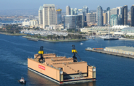 BAE Launches New San Diego Floating Dry Dock