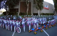 BAE Employees Donate 670 Bikes to Military Families; Jordan Becker Comments