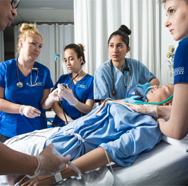 CAE healthcare business taps WorldPoint to distribute clinical training product - top government contractors - best government contracting event