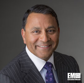 Harman International CEO Dinesh PaliwalJoins Raytheon Board - top government contractors - best government contracting event