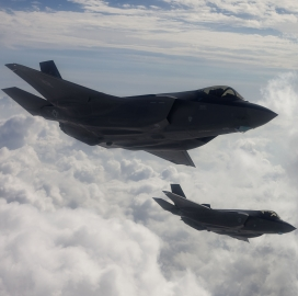 Harris Gets Lockheed Supplier Award for F-35, F-22 Pneumatic Suspension, Release Systems - top government contractors - best government contracting event