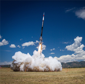ULA-Ball Aerospace-Space Foundation Team Launches Student, Intern-Built Rockets & Payloads - top government contractors - best government contracting event