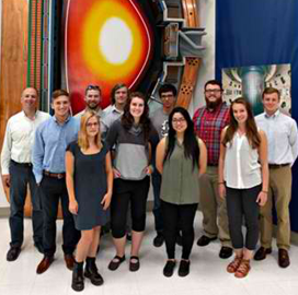 Students Complete General Atomics' DOE-Sponsored Science Undergraduate Lab Internship Program - top government contractors - best government contracting event