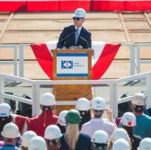 Navy Secretary Ray Mabus Visits HII's Ingalls Shipyard - top government contractors - best government contracting event