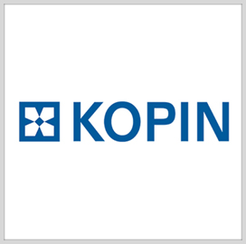 Harry Buchanan Joins Kopin as Defense Applications BD Director - top government contractors - best government contracting event