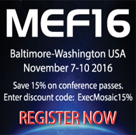 MEF Unveils List of Keynote, Featured Speakers at 2016 Global Networking Conference; Kevin Vachon Comments - top government contractors - best government contracting event