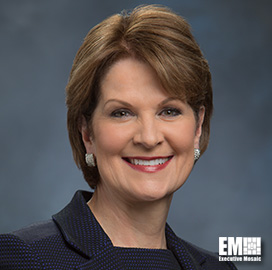 Lockheed CEO Marillyn Hewson receives Edison Achievement Award - top government contractors - best government contracting event