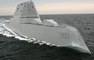 General Dynamics Delivers 2nd Zumwalt-Class Destroyer Ship to Navy