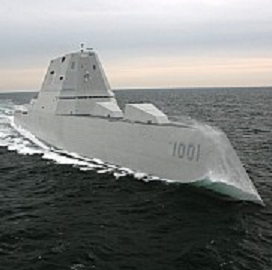 General Dynamics Delivers 2nd Zumwalt-Class Destroyer Ship to Navy - top government contractors - best government contracting event