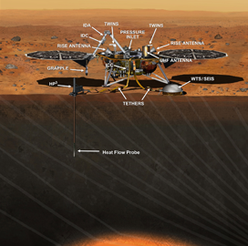 ExecutiveBiz - NASA to Study Mars Seismic Activity With Lockheed-Built Spacecraft