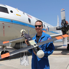NOAA-Raytheon UAV Hurricane Tracking Initiative Gets Laureate Award; Thomas Bussing Comments - top government contractors - best government contracting event
