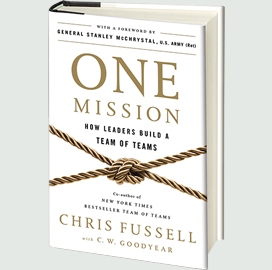 McChrystal Group Announces Release of 'One Mission' Book With Foreword From Army Vet Stan McChrystal - top government contractors - best government contracting event