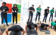 Microsoft Hosts 'Pushups for Charity' for Military Veteran Support Awareness; Wes Anderson Comments