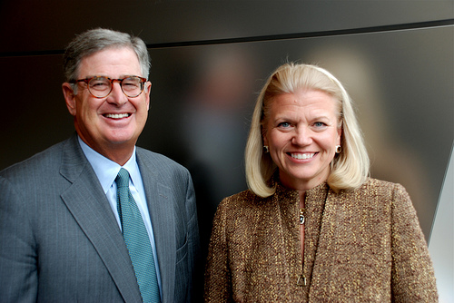 IBM Names CEO Virginia Rometty Board Chair - top government contractors - best government contracting event